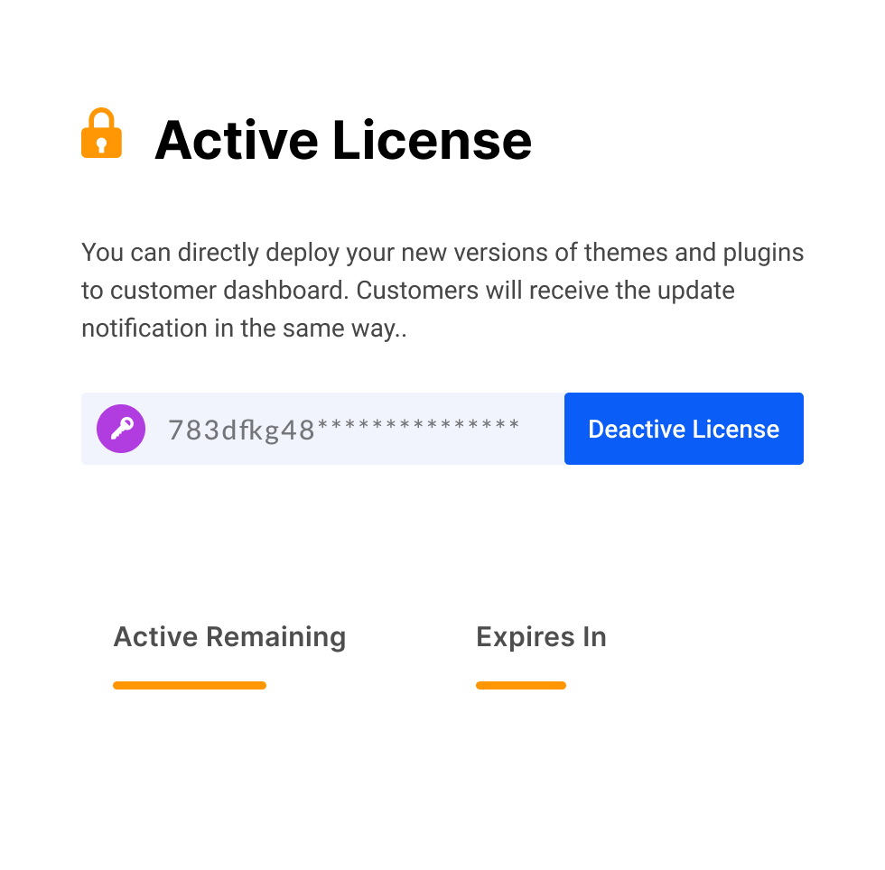 Sparkle License Manager - License Activate